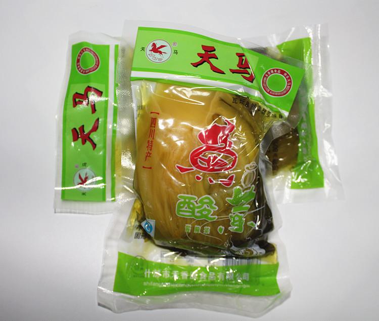 250g四川特产 天马牌 鱼酸菜 老坛泡青菜 酱腌菜 酸菜鱼原料量大