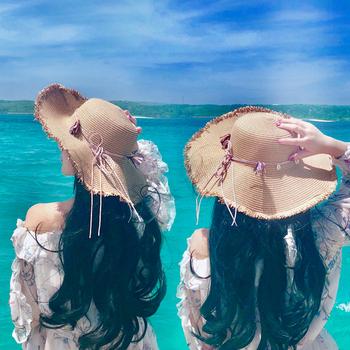 女出游沙滩防晒海边度假百搭太阳帽