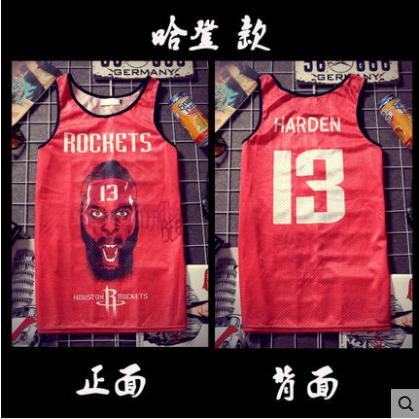 欧美街头潮牌时尚字母印花男生网眼背心薄韩版个性嘻哈大码篮球衣