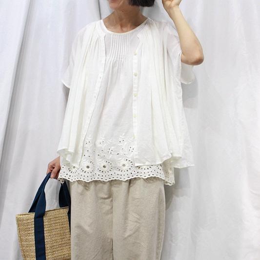 夏季女装森系百搭宽松短袖小开衫