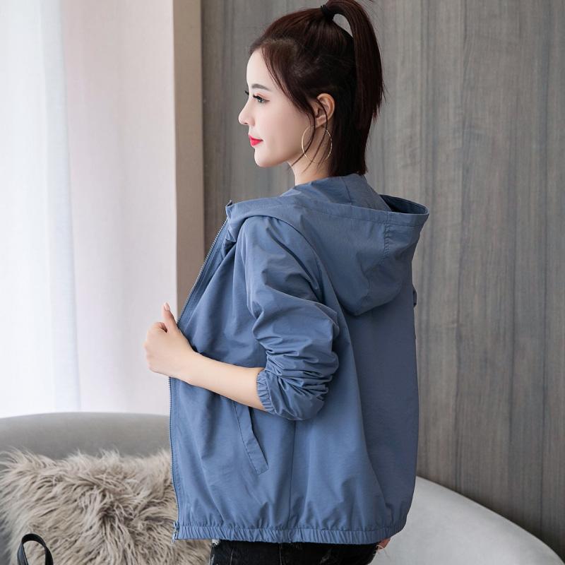 2021早春款女装新款宽松韩版薄外套