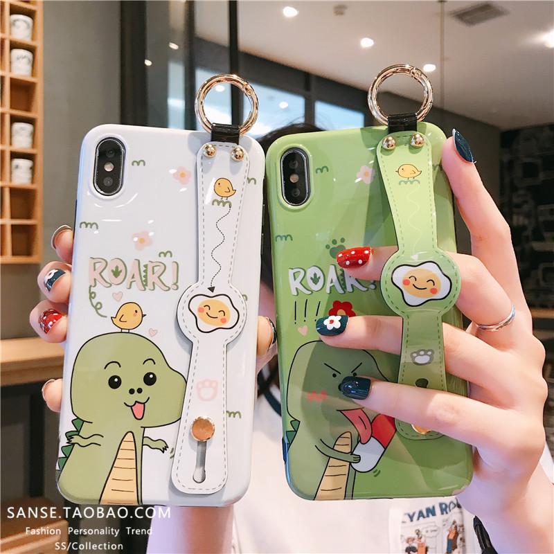 卡通可爱鳄鱼8plus苹果x 7p手机壳10月29日最新优惠