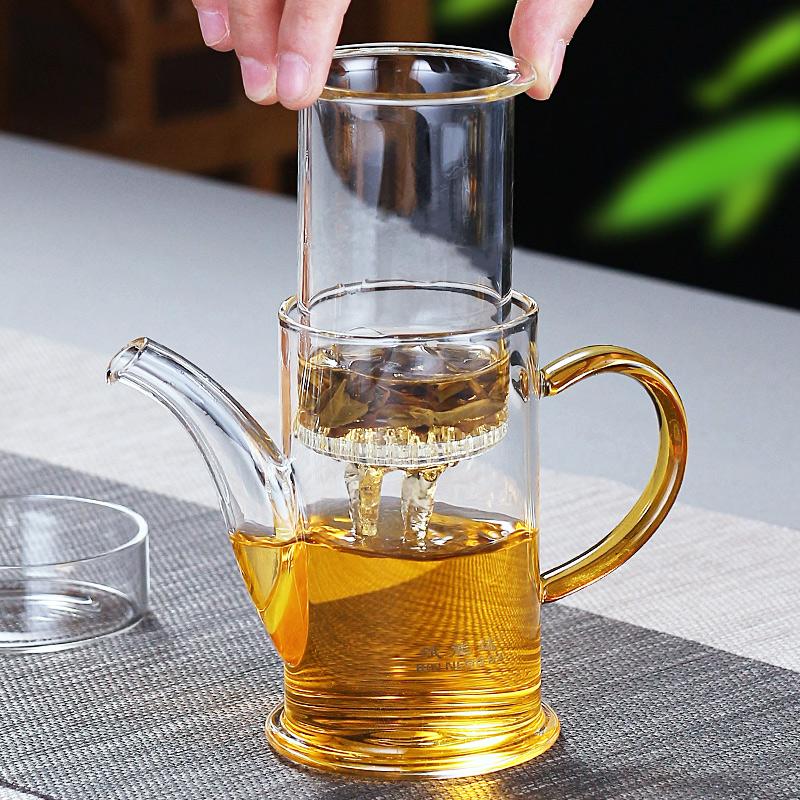 斌能达加厚玻璃泡茶壶过滤冲茶器红茶泡绿茶办公室功夫茶具小号