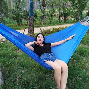网状吊床透气大人吊绳夏季网孔冰丝网冰丝网床沙滩摇床树床吊睡网