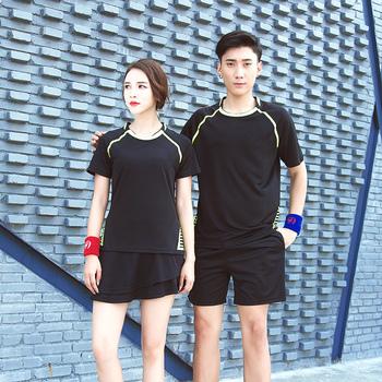 羽毛球服男女款夏季乒乓球网球服