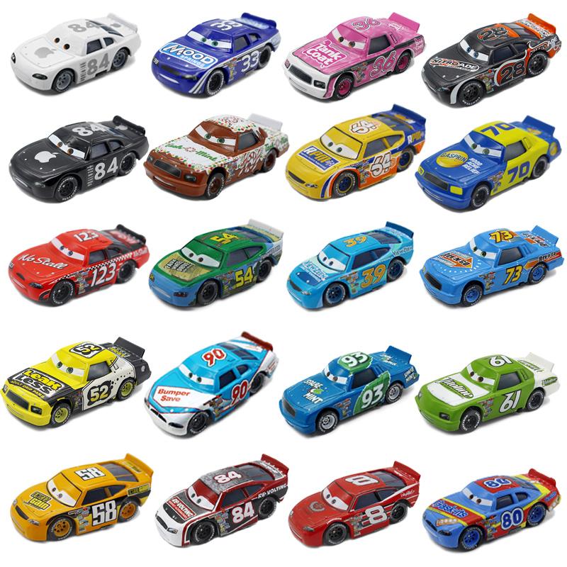 汽车总动员cars 2号码赛车123号8号84号合金儿童玩具汽车模型礼物