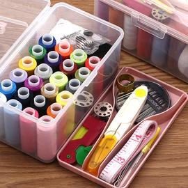 便携针线盒女宿舍用学生家用小针线包收纳多功能缝纫针线迷你套装图片