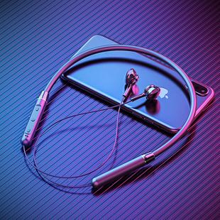 高音质跑步男女士款 双耳入耳型颈挂脖式 适用于oppo华为苹果超长待机续航大电量 运动无线蓝牙耳机2021年新款