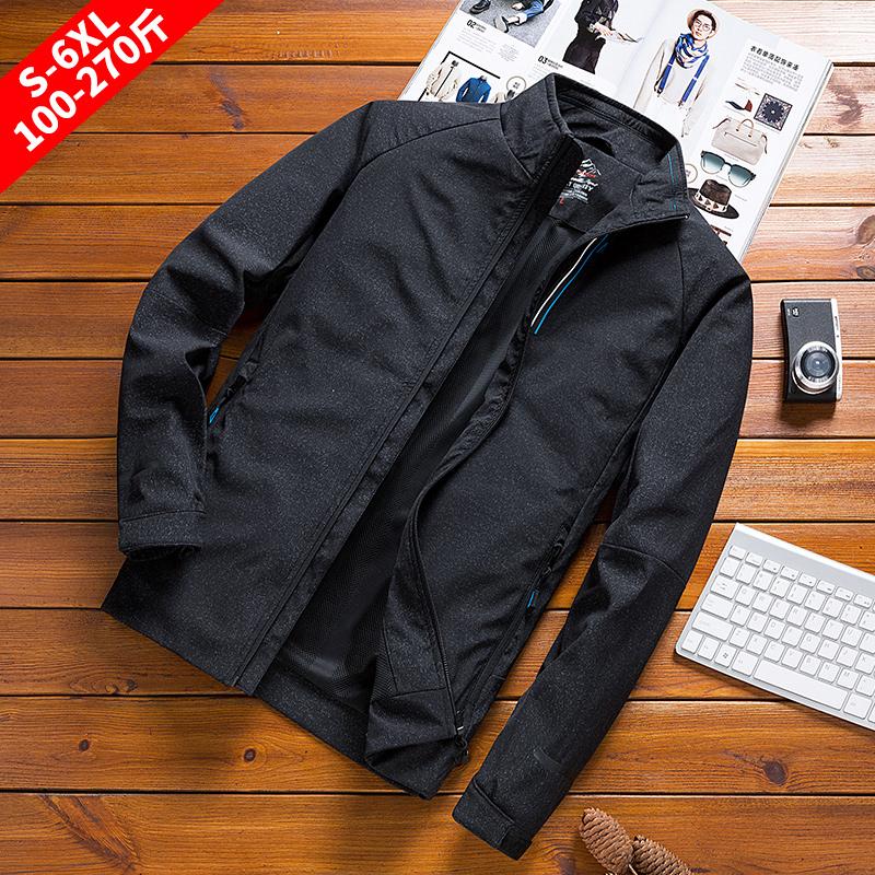 2020春秋メンズコートに太めサイズを加え、ゆとりのある中青年アウトドアの弾力性と通気性のあるメンズジャケット
