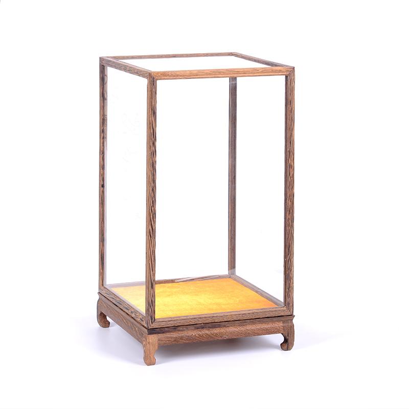 实木摆件观音佛像玻璃罩子底座花瓶怎么样