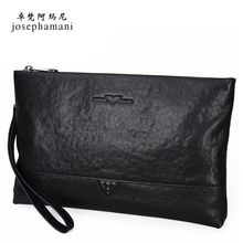 Zhuofan Armani Genuine Men's Handbags, True Leather, Head Cowhide, Large Capacity Business Men's Bags New Type 2019