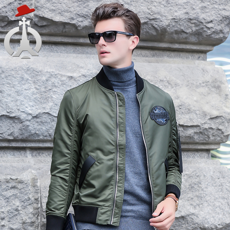 Changren 2018 spring jacket young mens thin jacket Baseball Jacket short sportswear spring fashion