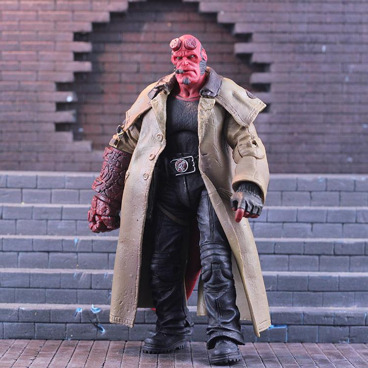 Mezco ant hell Baron Hellboy 6 inch Chinese version of super movable doll hand model