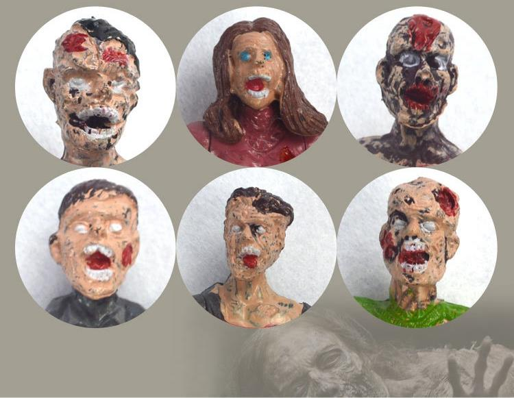 3.75-inch walking corpse handle biochemical crisis zombie Sean mobile Doll Toy ornaments/
