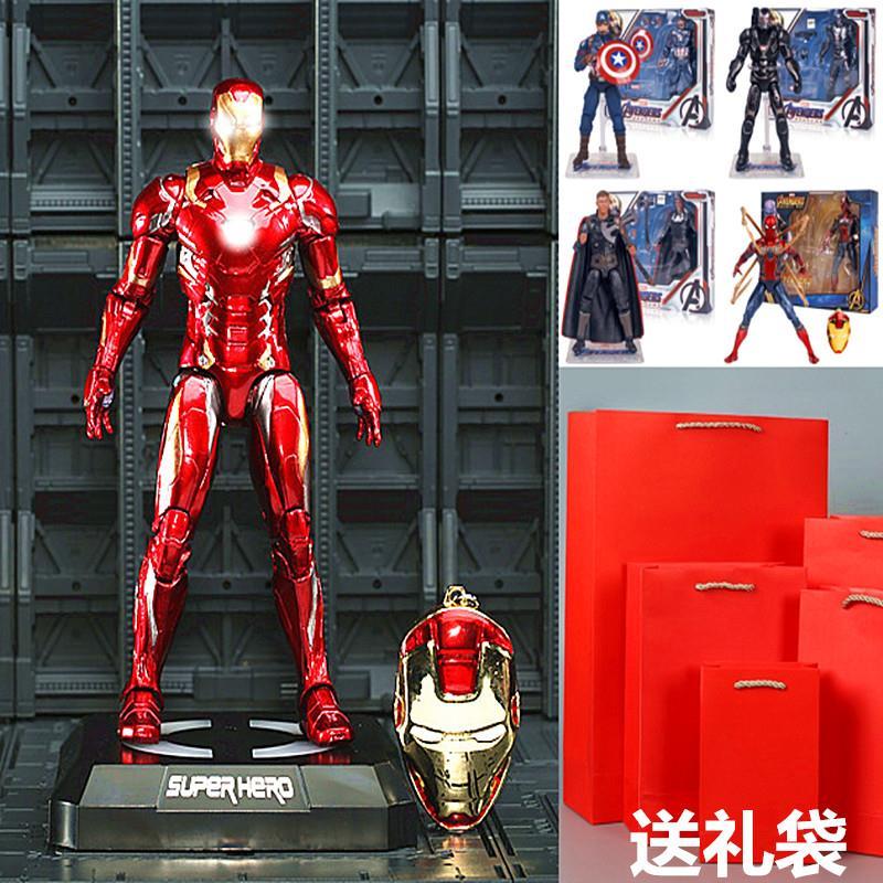 正版中动复仇者联盟3无限战争MK85钢铁蜘蛛手办侠可动模型//