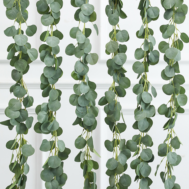 Simulation of artificial flowers and vines decoration plastic tree leaves vine air conditioning sewer pipe wall ceiling winding shielding