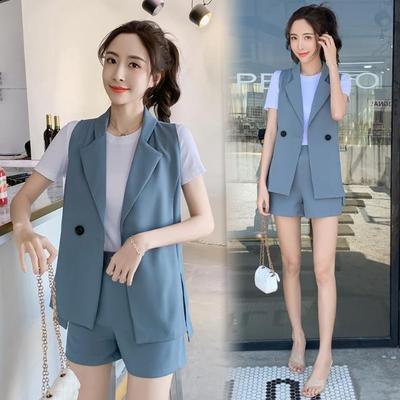 单两件套装女2021新款韩版显瘦t恤