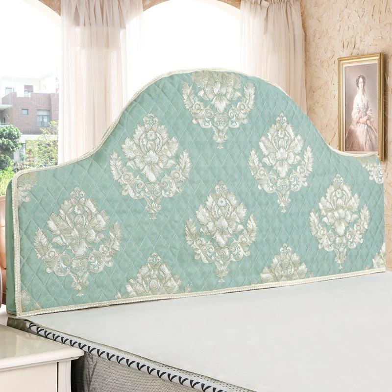 床头板套罩 弧形 半圆形 欧式定做罩套不规则老式夹棉布艺弧度异券后67.30元