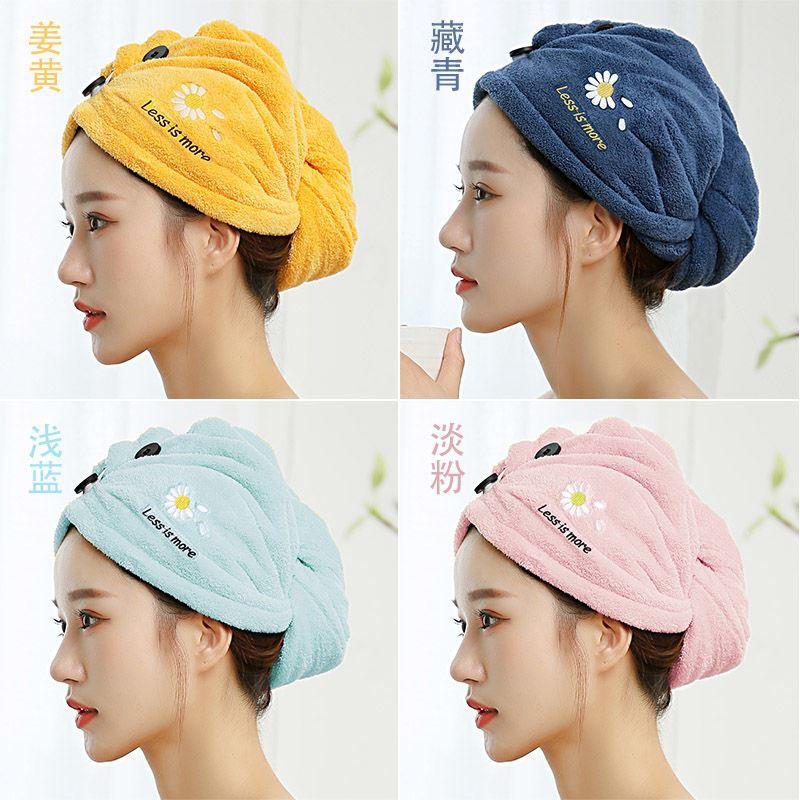 干发帽女长发成人新款速干帽干发巾超强吸水毛巾擦包头发浴帽头巾