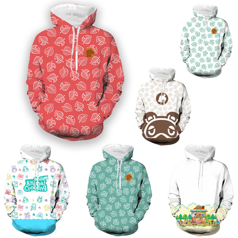 Casual full color sweater Cosplay animal animal game