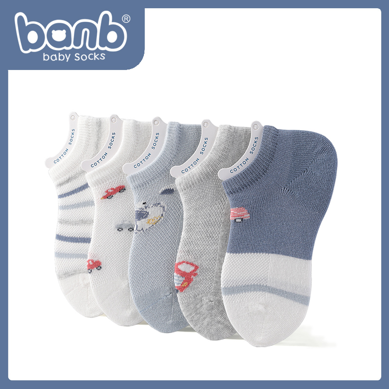 Praque children's socks children's socks summer day thin spring and autumn cotton big children's online baby socks boy boat socks