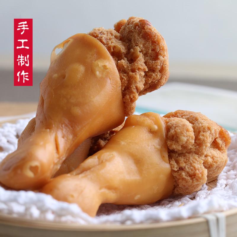潮汕特产小吃鸡腿酥皮面包零食办公休闲茶配食品6条共160g装包邮