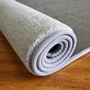 加厚短毛地毯地垫客厅书房卧室满铺大面积免洗灰色榻榻米茶几垫子