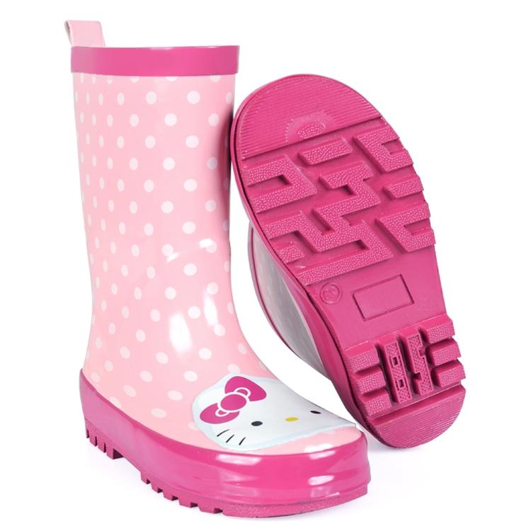 儿童雨鞋女童水鞋可爱亲子雨鞋橡胶防滑水鞋宝宝小孩保暖雨靴,可领取3元天猫优惠券