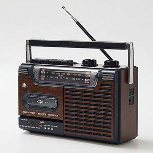 磁帶播放機老式 80年代懷舊90全新仿古錄音機磁帶機 收錄機收音機