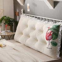 卡侬欧式床头靠垫双人沙发大靠背软包榻榻米公主靠枕腰枕护腰抱枕