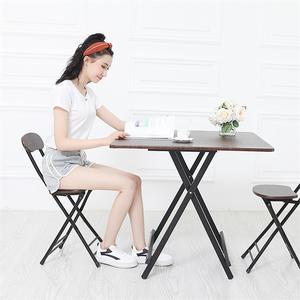 做饭1米方桌轻便型正方形50网红厘米粉色伸缩卧室圆角台桌餐桌垫