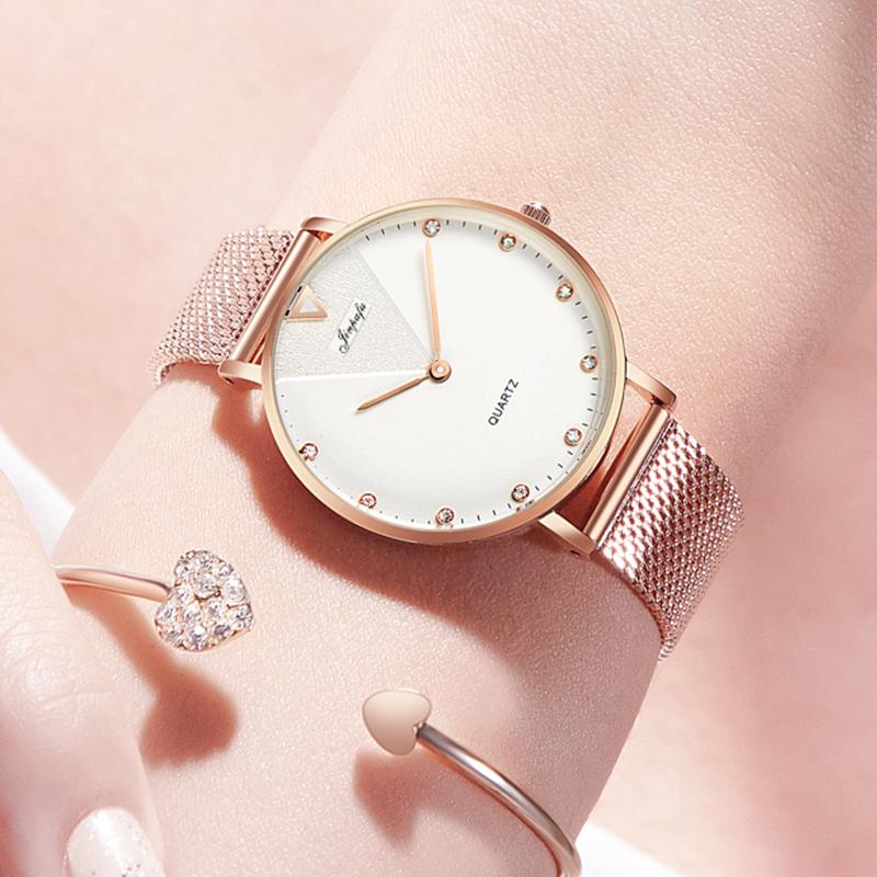 TikTok Watch Ladies fashion watch 2019 new female watches quartz watch waterproof couple watches male watches