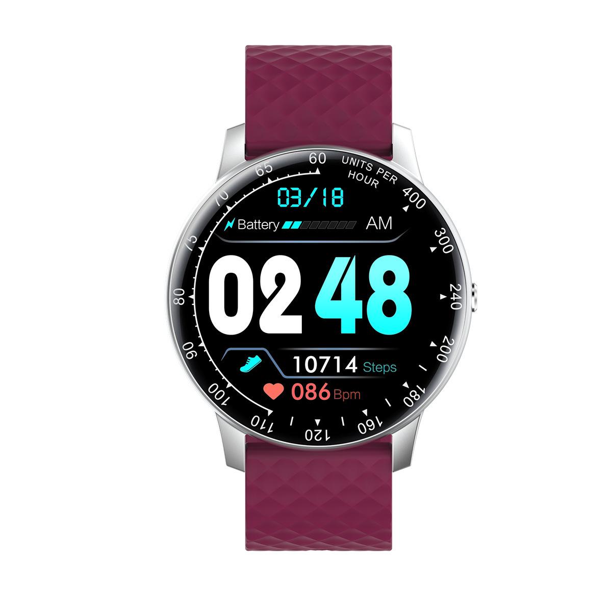 智能手环圆盘5代防水多功能跑步心率情侣男女全触屏运动手表通用