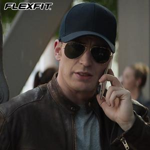 flexfit潮大头围男士夏季鸭舌帽