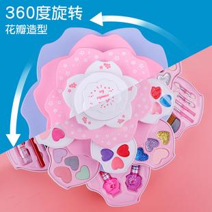 儿童化妆品套装化妆盒无毒5岁玩具