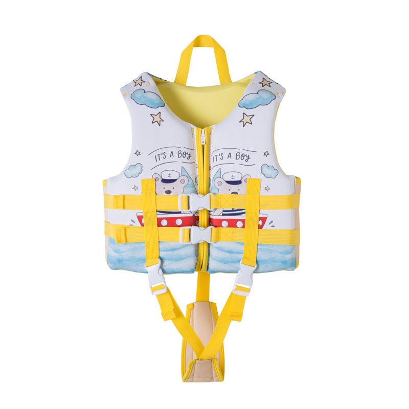SCUBATREK儿童救生衣 浮力马甲 男女童浮潜 专业浮力游泳衣温泉衣