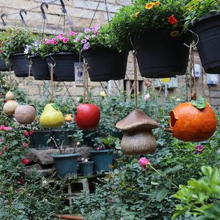 入户花园庭院树脂创意鸟窝装饰户外别墅阳台园艺景观树上装饰挂件