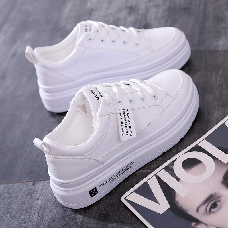 小白鞋2019秋季新款厚底韩版潮单鞋热销32件五折促销