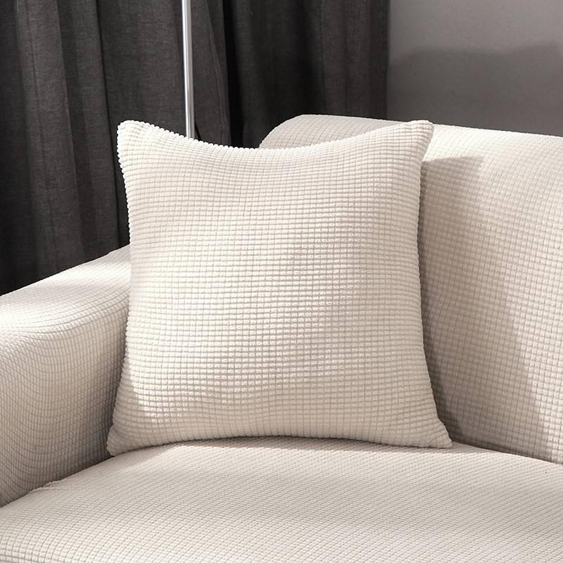 玉米绒贵妃套弹力万能全包全罩贵妃罩纯色双人三人沙发全盖贵妃巾