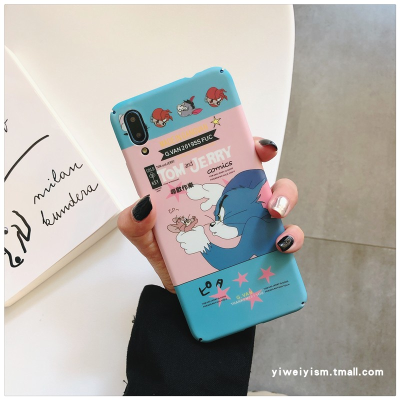 猫和老鼠vivoZ5手机壳vivoy7s磨砂硬壳y66y67动漫S1z5xZ3轻限2000张券