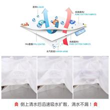 Leak proof rabbit, winter pad, baby urine, autumn baby, separate washing, children's anti bed urination device, urination skirt, waterproof diaper pants