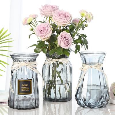 【3件装】欧式大号玻璃花瓶 10万库存回归