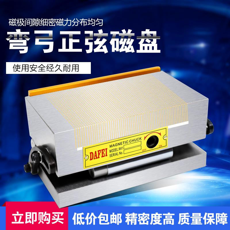 磨床一体正弦磁台 可调角度永磁吸盘 磨床斜度吸盘 正弦斜度磁盘
