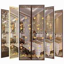 魔术贴门帘防蚊磁性软纱门夏季卧室家用加密沙窗沙门隔断纱窗纱网