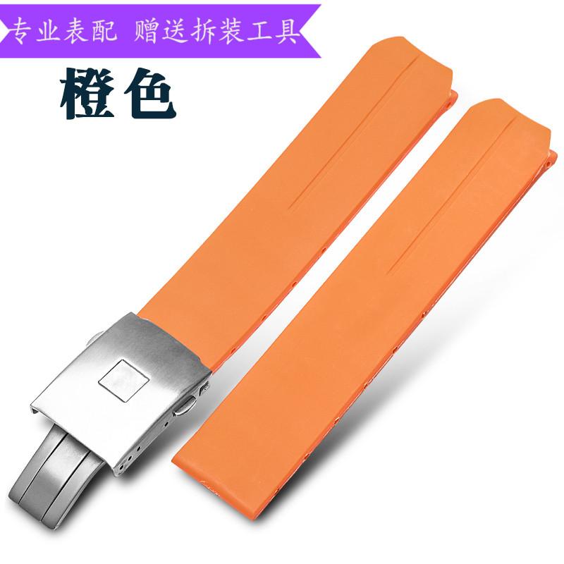 橡胶手表带适用于天梭T-TOUCH腾智系列触摸硅胶表带T013 20/21mm