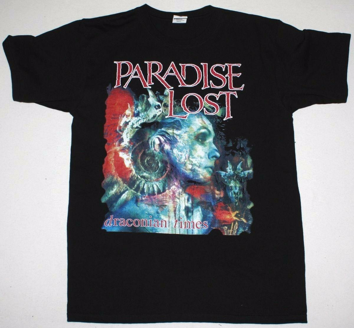 Paradise Lost end of Draco era gothic metal new black T-shirt custom short sleeve