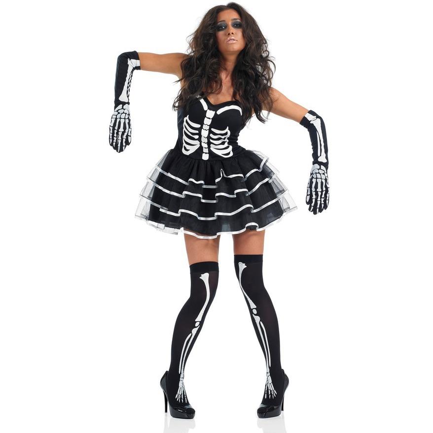 Halloween couple cosplay costume skull zombie uniform Skull Skeleton one piece devil costume performance Costume