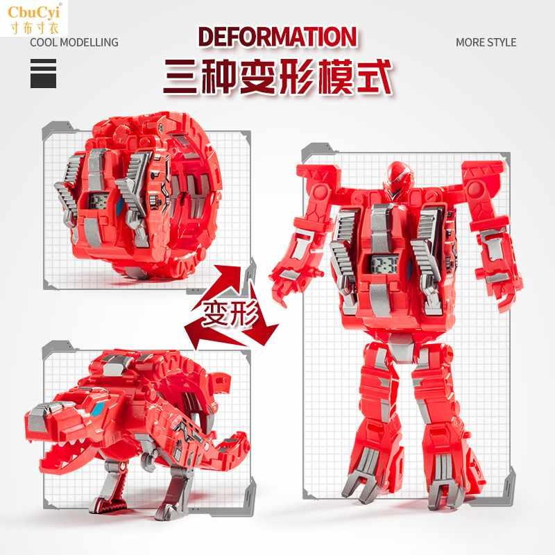 钢铁飞龙2奥特曼崛起变形手表机器人恐龙玩具男孩机甲3岁儿童模
