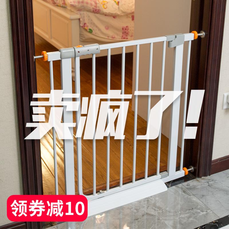 宠物栏杆隔离门防挡猫狗狗围栏栅栏室内护栏狗笼子大中小型犬家用