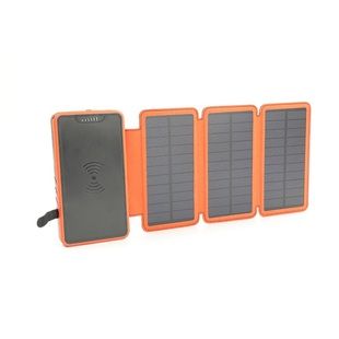 Bank Waterproof Charger Wireless Power Solar Quakeproof Dust